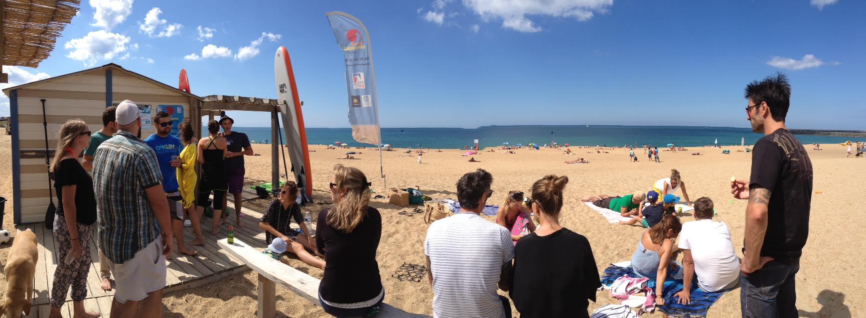 Ambiance-école-de-surf-anglet