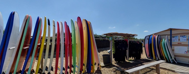 école de surf anglet- stages de surf avec hébergement - cours de surf anglet