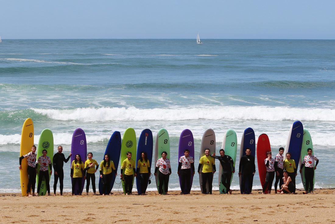 école de surf anglet Gliss'experience- Plage des cavaliers