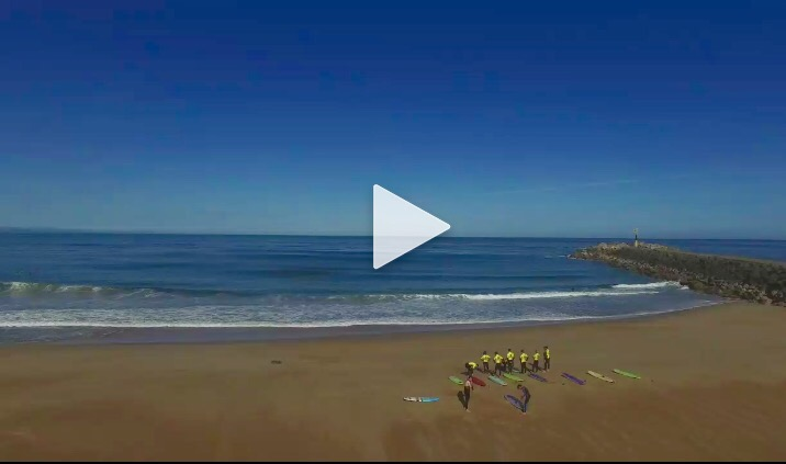 École de surf plage des cavaliers anglet