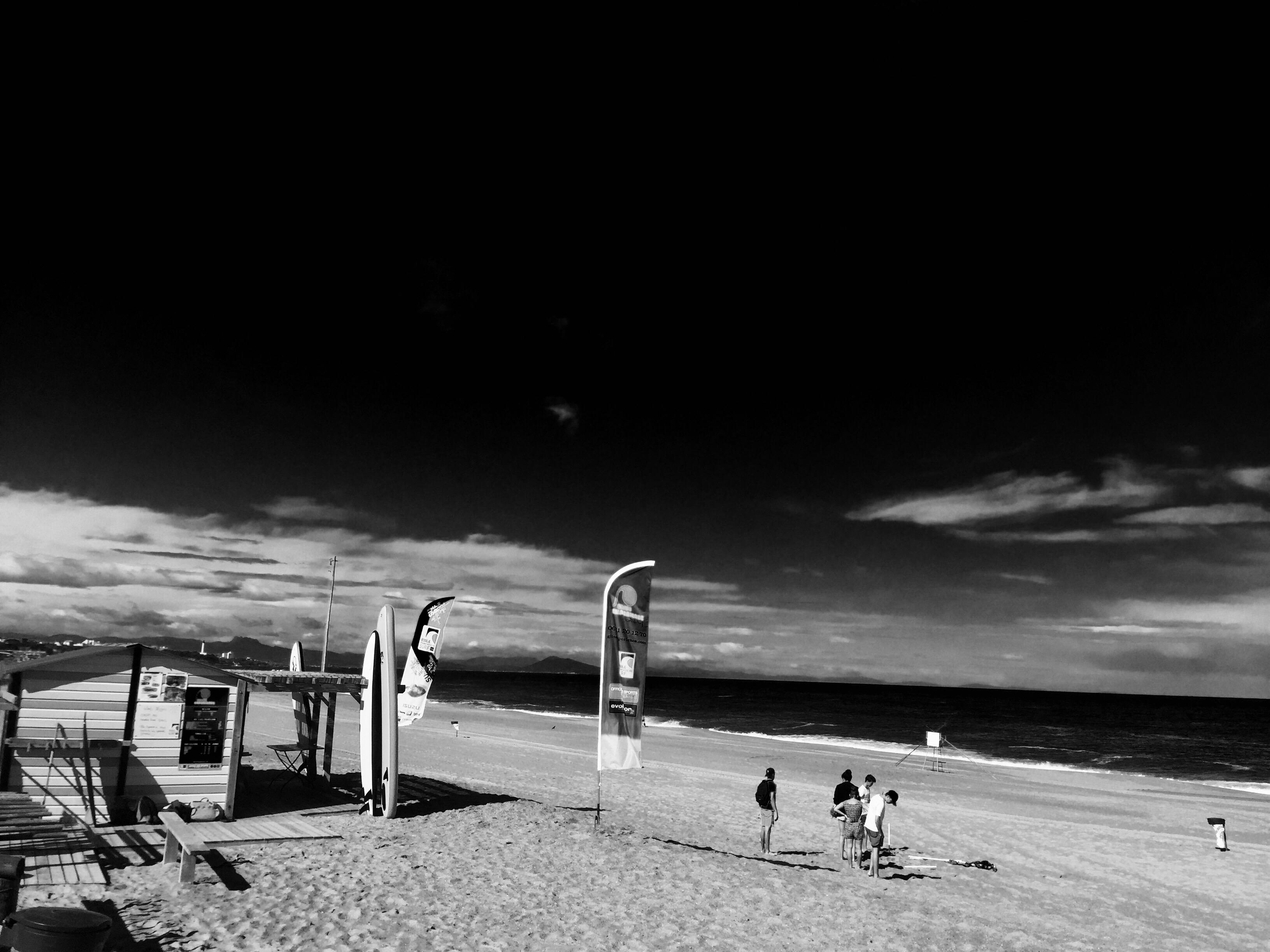 École de surf Gliss'experience plage des cavaliers anglet