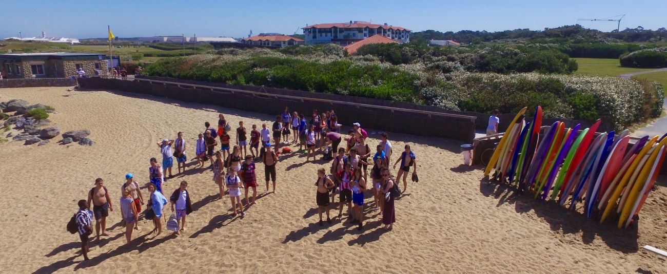 surf camp groupes Anglet