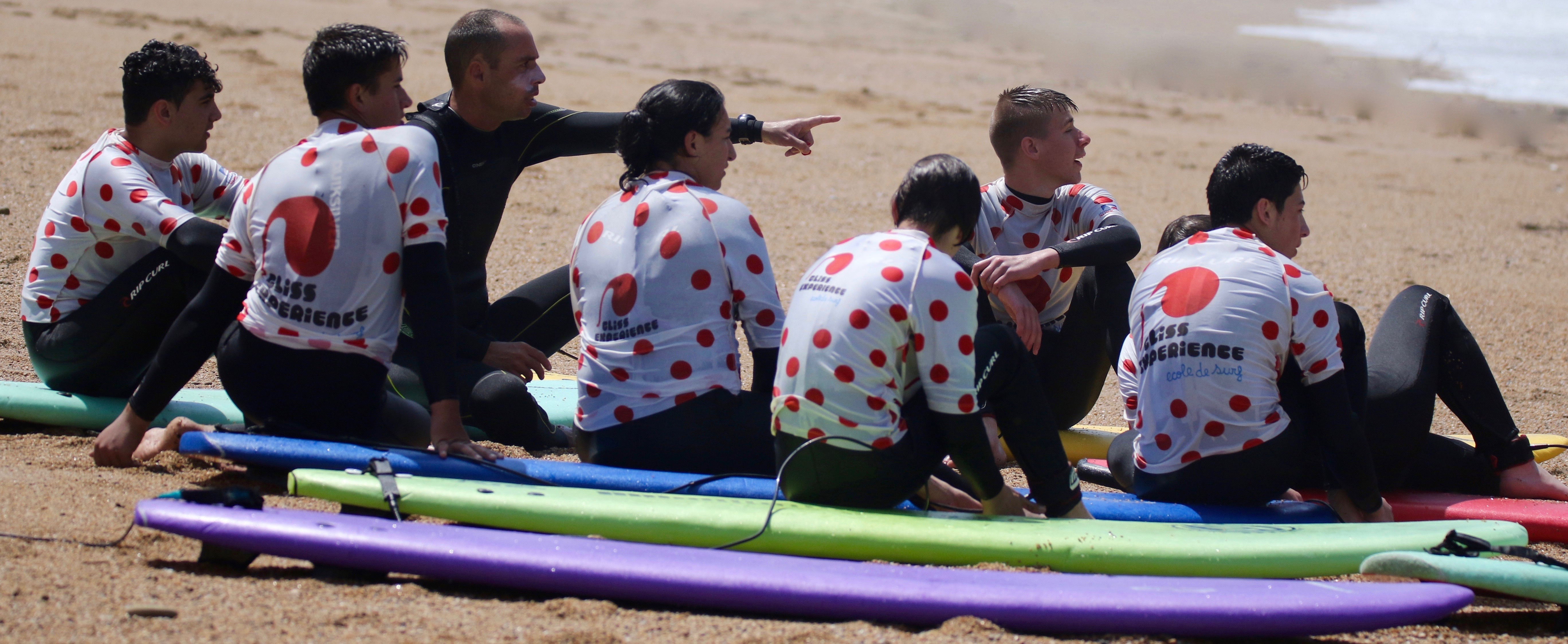 surfcamp ados biarritz
